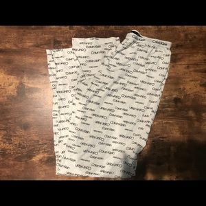 NWOT Calvin Klein pajama pants!